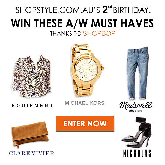 Win 1 of 2 $1000 Shopbop Vouchers with Shopstyle Australia