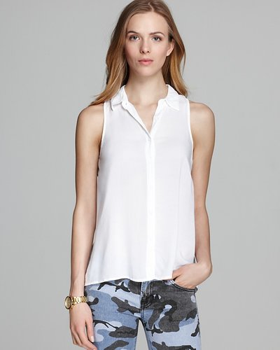 Splendid Tank - Button Down Shirting