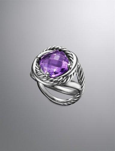 Infinity Ring, Amethyst