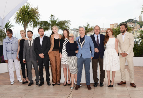 The cast of The Great Gatsby attended a photocall for their film.