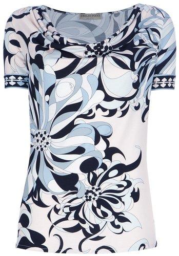 Emilio Pucci flower print t-shirt