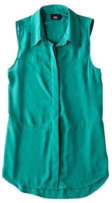 Mossimo® Women's Sleeveless Woven Shirt Blouse - Assorted Colors