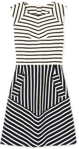 10 Crosby Derek Lam Sleeveless Dress With Seam Detail
