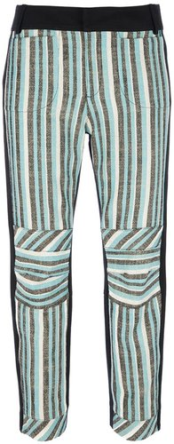10 Crosby By Derek Lam striped trouser