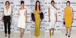 See All the Fashionable Arrivals from InStyle's Women of Style Awards