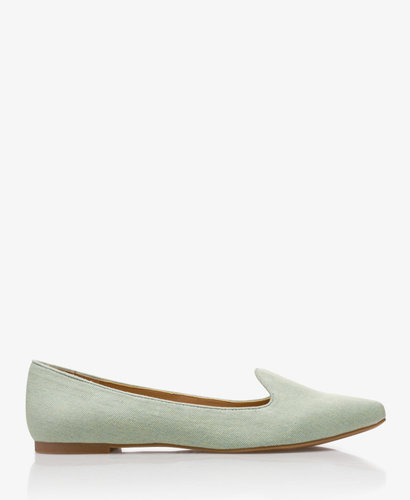 FOREVER 21 Denim Loafers