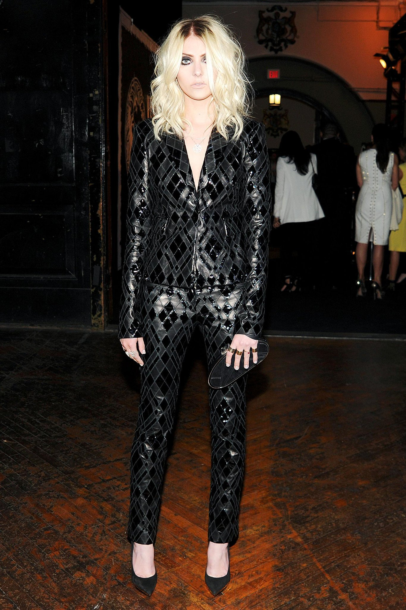 Taylor Momsen at the JW Anderson for Versus Launch Party. Source: Billy Farrell/BFAnyc.com