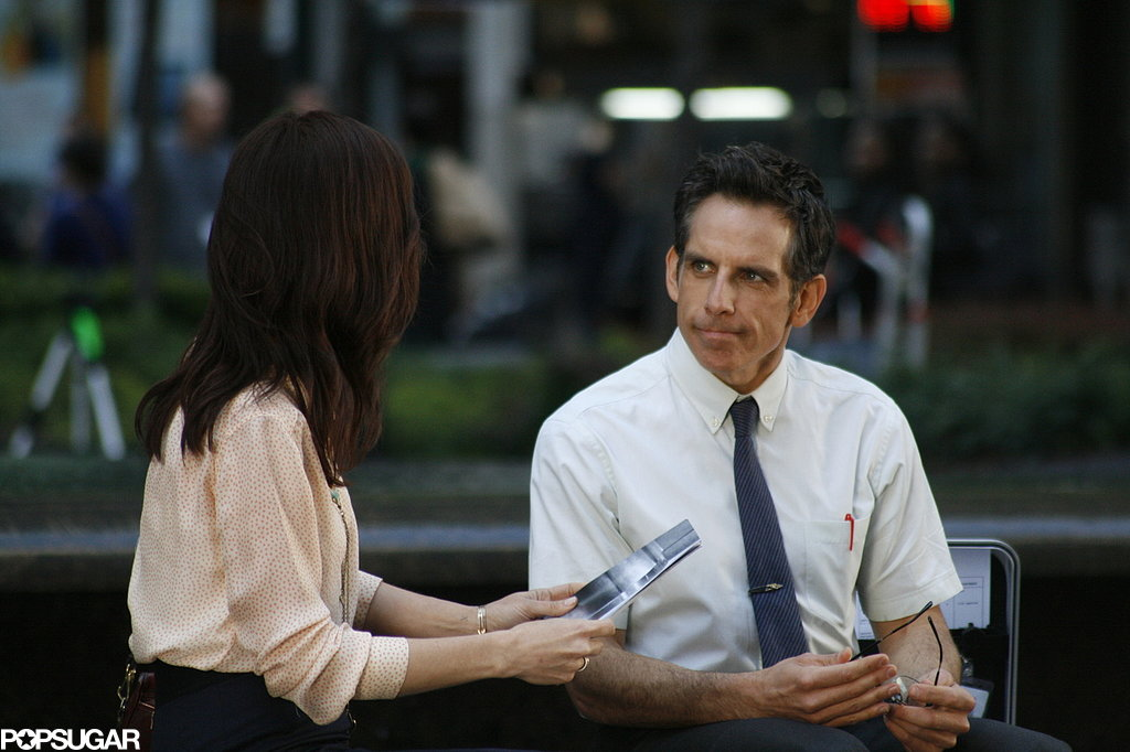A Special Love Interest Sneaks Onto Ben Stiller's Set