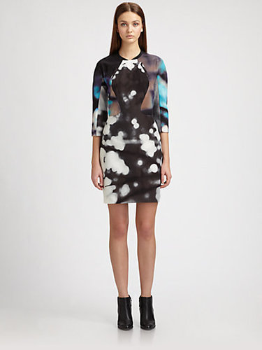 Rachel Comey Jet Silk/Cotton Dress
