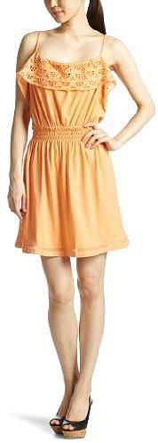 (ベルベット)velvet キャミワンピース BABY JERSEY DRESSES 34121050 CAN オレンジ S