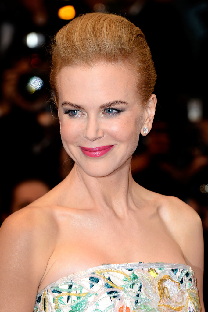 Nicole's pink lip was very flattering at The Great Gatsby premiere.