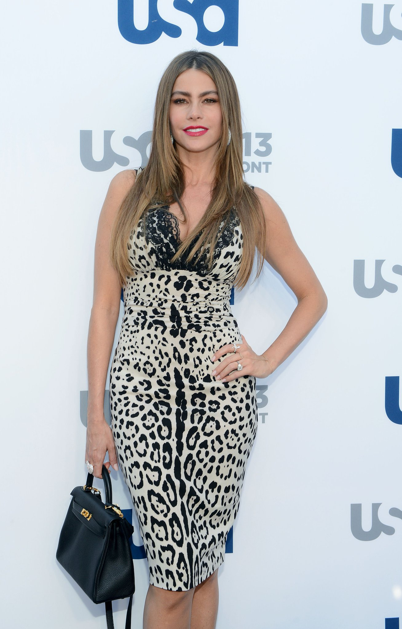 Sofia Vergara attended the USA upfronts.