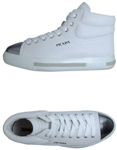 PRADA SPORT High-top sneaker