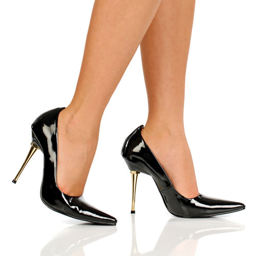 4 Inch Ultra Thin Stiletto Heel Pump