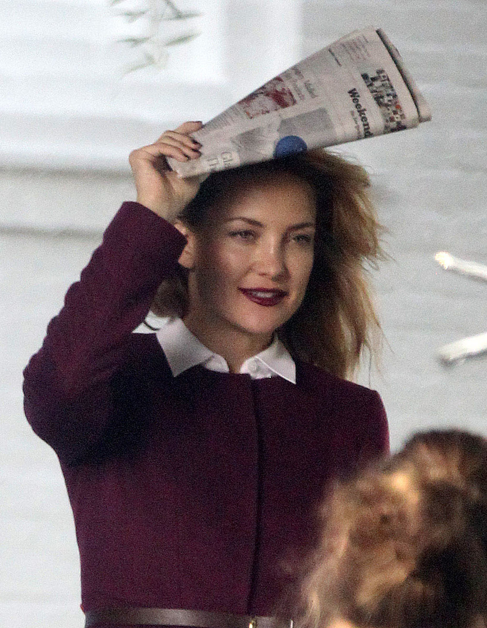 Kate Hudson Brings Bingham to a Photo Shoot
