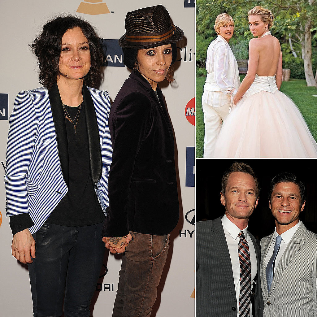 Sara Gilbert gets married