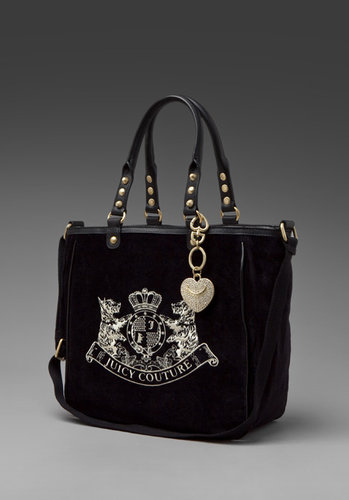 Juicy Couture Scotty Embroidery New Tote Bag