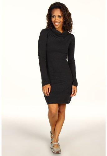 Prana - Kaya Sweater Dress (Black) - Apparel