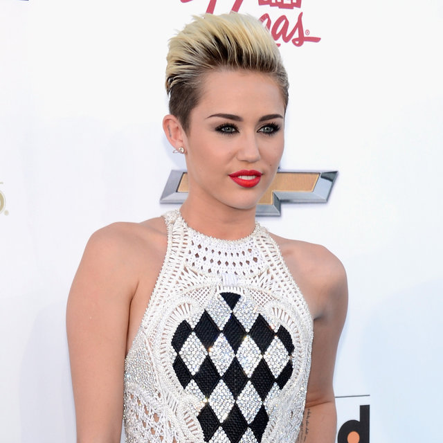 Miley Cyrus in Balmain Jumpsuit at 2013 Billboard Awards