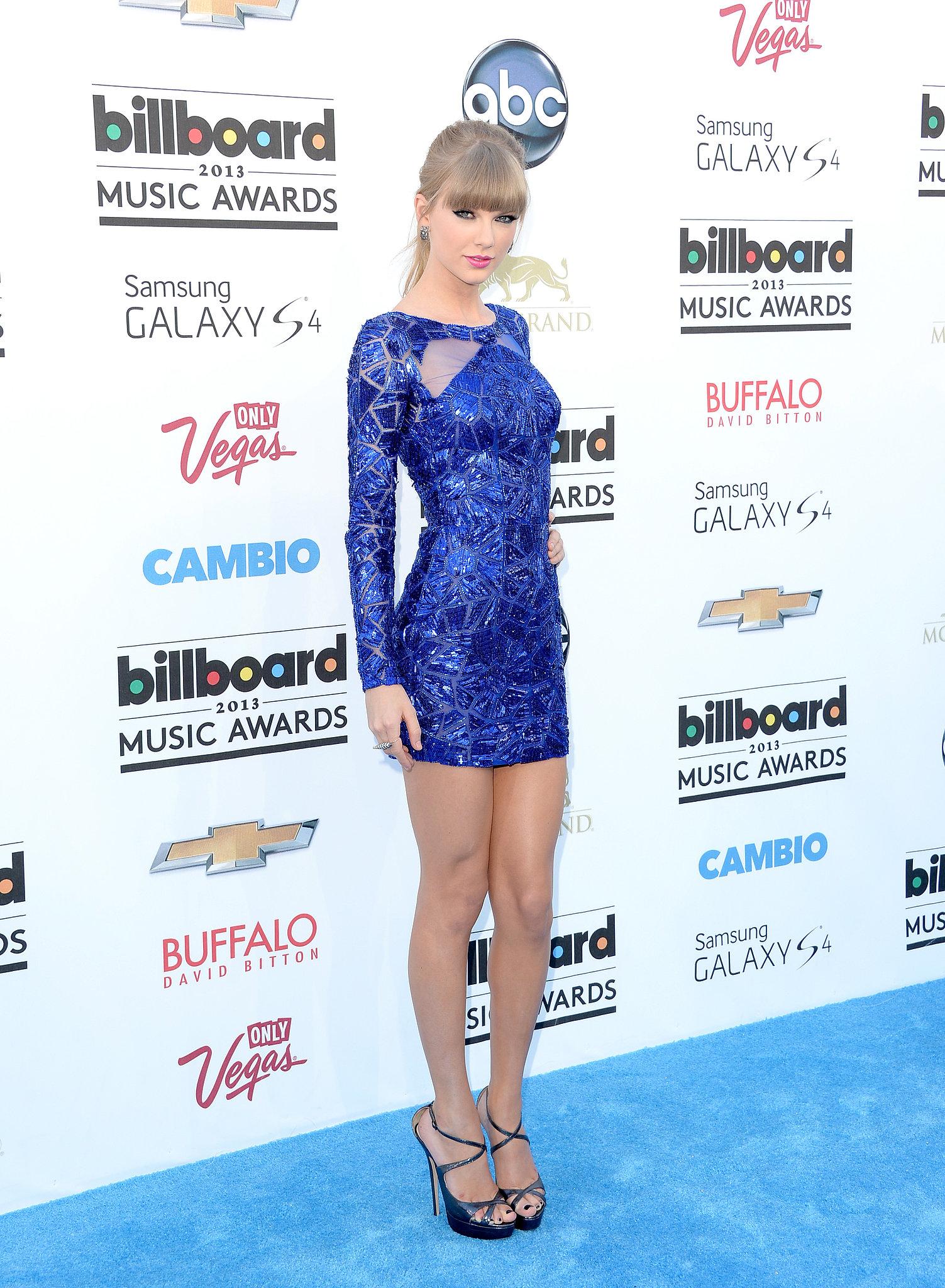 Taylor Swift in Zuhair Murad at Billboard Music Awards.