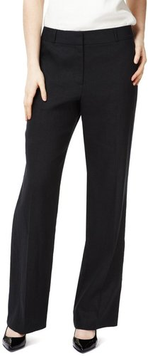 Pure Linen Straight Leg Trousers