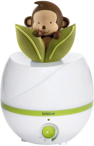 Kids Line Ultrasonic Cool Mist Monkey Humidifier