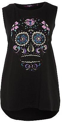 Inspire Black Mexican Skull Vest