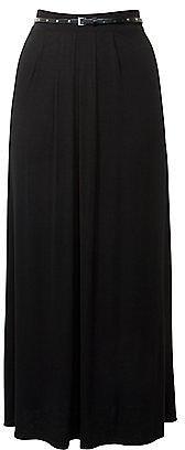 Inspire Black Jersey Maxi Skirt