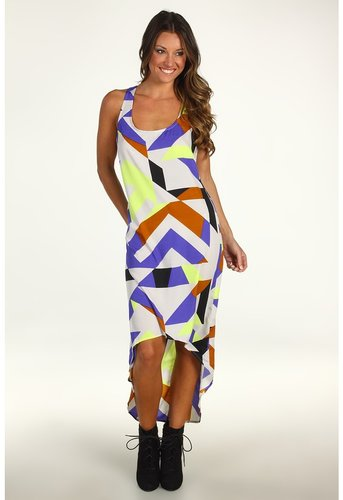 Volcom - Stones in My Shoes Maxi Dress (Neon Yellow) - Apparel