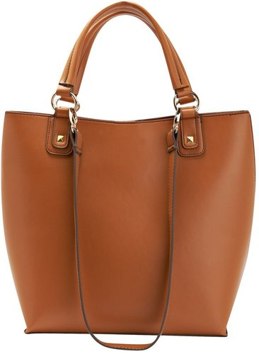 Oversized Structured Tote Bag