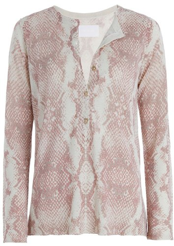 Sweater Corto Print Ln