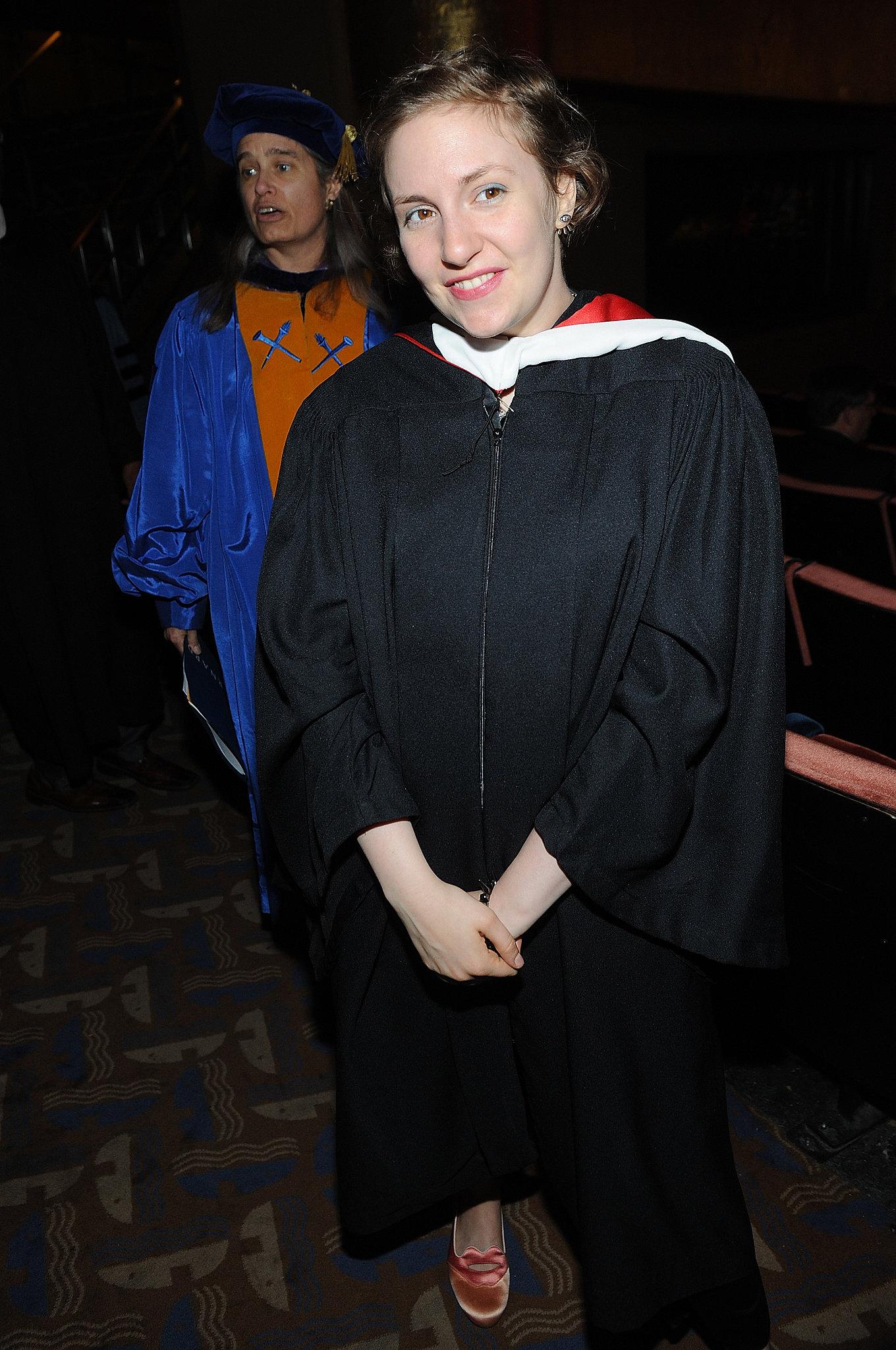 """Lena Dunham Gets a Graduation """"Redo"""""""