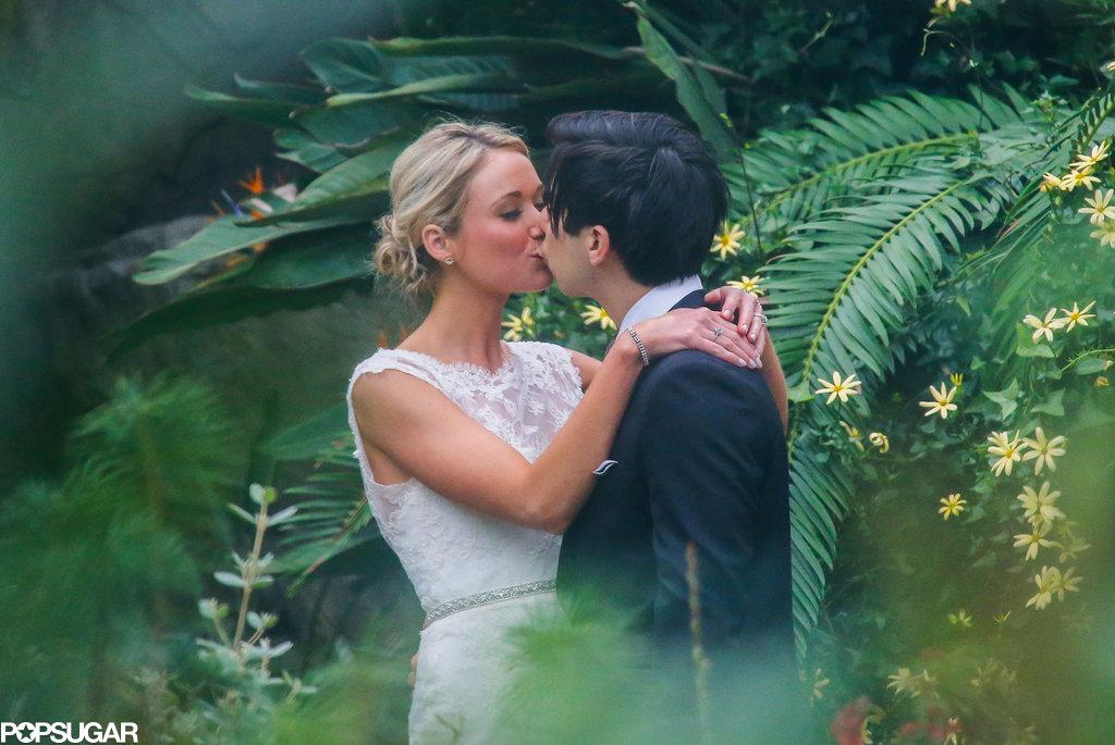 30 Rock's Katrina Bowden married her fiancé, Ben Jorgensen, in Brooklyn.