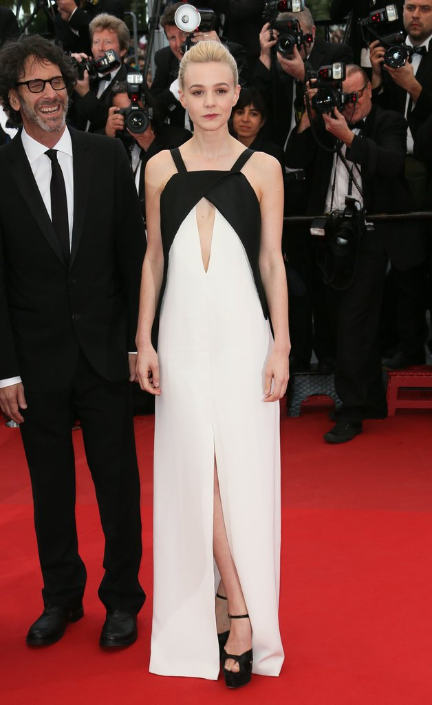 Carey Mulligan in Black and White Vionnet at the 2013 Cannes Film Festival
