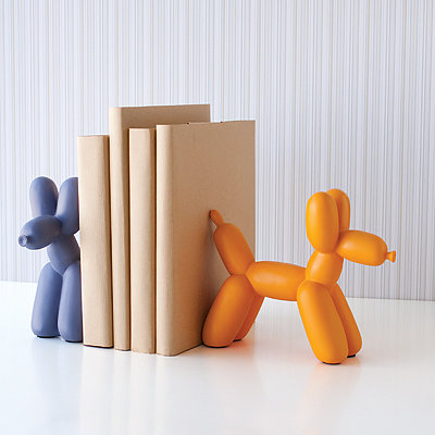 San Francisco Museum of Modern Art: Balloon Dog Bookend