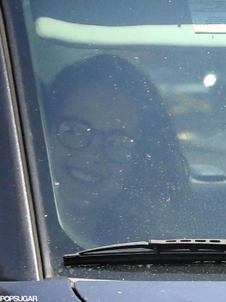 Kristen Stewart smiled despite her split from Robert Pattinson.