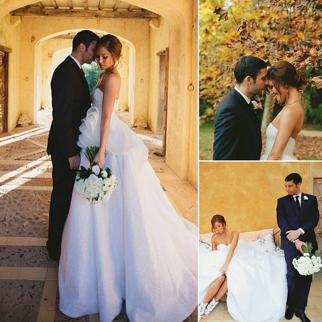 Erin McNaught and Example (Elliot Gleave) Wedding Pictures