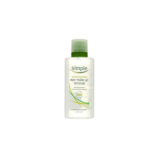 Simple Conditioning Eye Makeup Remover, $8.99