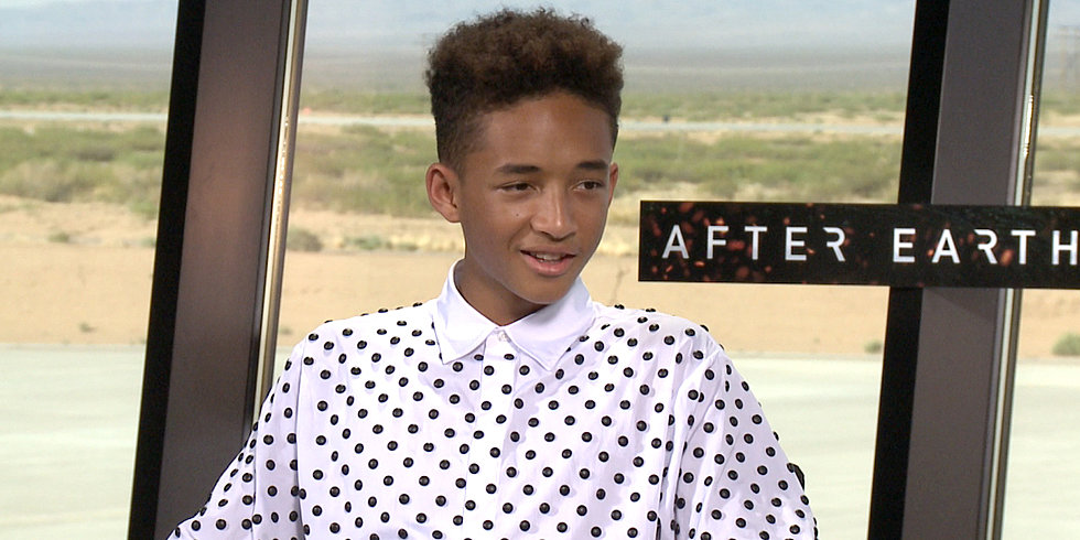 Jaden Smith on the Perks of Working With His Dad