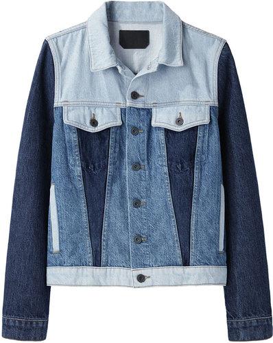 Proenza Schouler / Colorblocked Jean Jacket