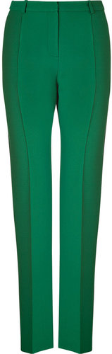 Jonathan Saunders Emerald Crepe Pants