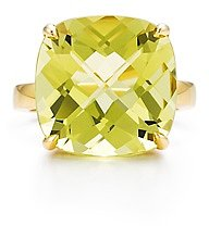 Tiffany Sparklers Yellow citrine cocktail ring