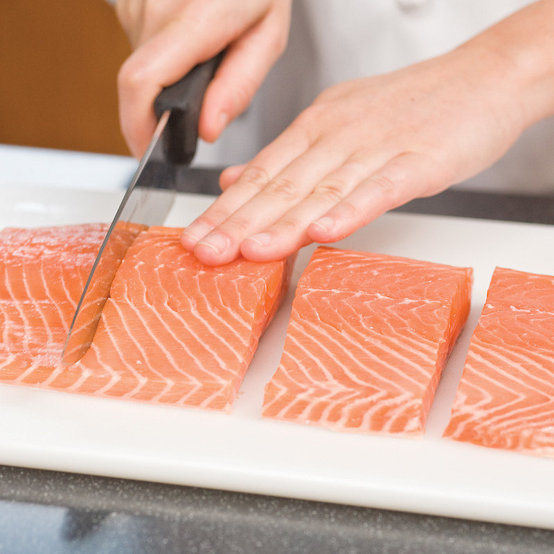 Ensuring Evenly Cooked Salmon Fillets