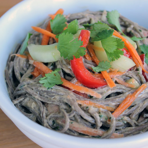 ginger lime tuna with buckwheat soba noodles recipe yummly ginger lime ...