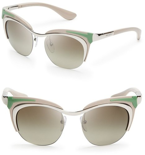 Prada Runway Cat Eye Sunglasses