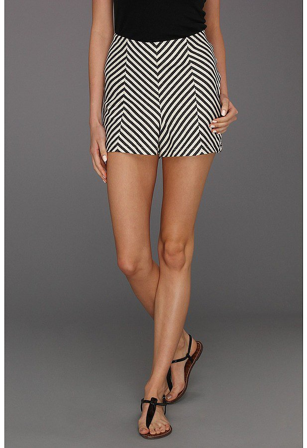 These Brigitte Bailey chevron-print shorts ($49) would look equally great for day or night. We love the high waist, too.
