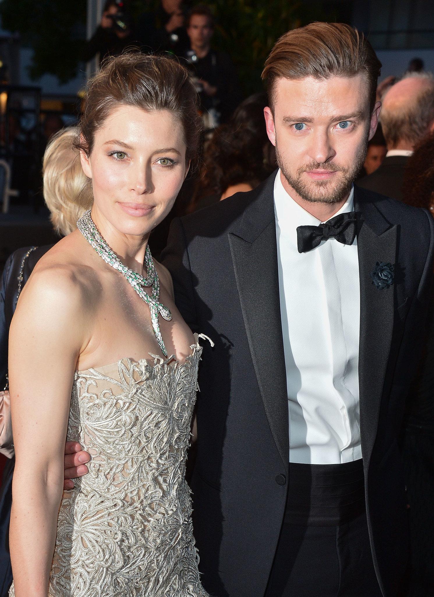 Jessica Biel and Justin Timberlake in 2013