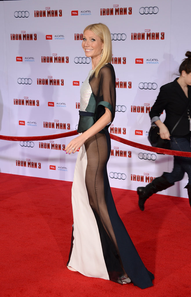 Gwyneth Paltrow: Iron Man 3 Premiere, April, 2013