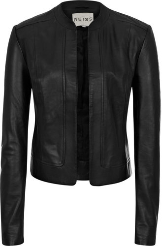 Bryony CROPPED LEATHER JACKET