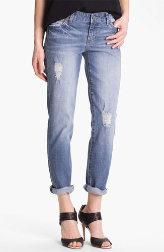 KUT from the Kloth 'Catherine' Distressed Slim Boyfriend Jeans (Discover)